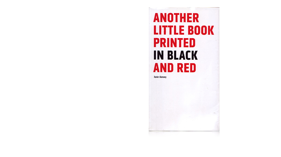 Another little book printed in black and red imagen