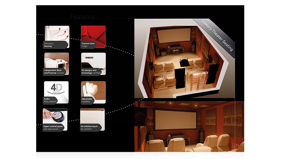 Catálogo New Generation of Luxury Theater Seating imagen