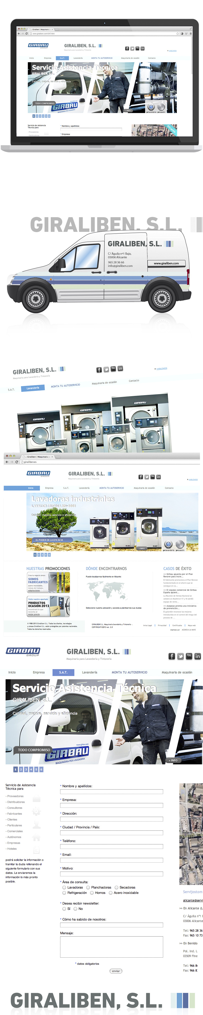 Giraliben Machinery for laundry and dry cleaning pieces image