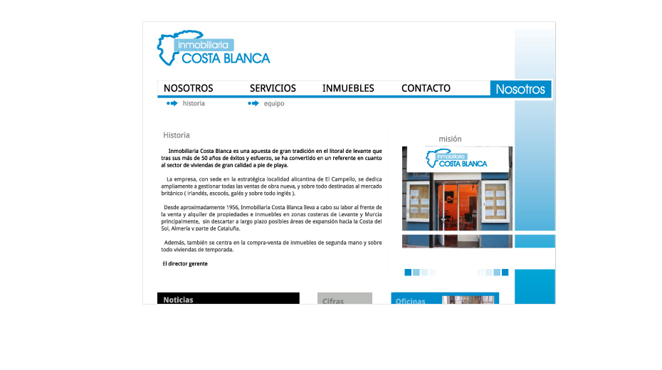 Costablanca Real estate site image