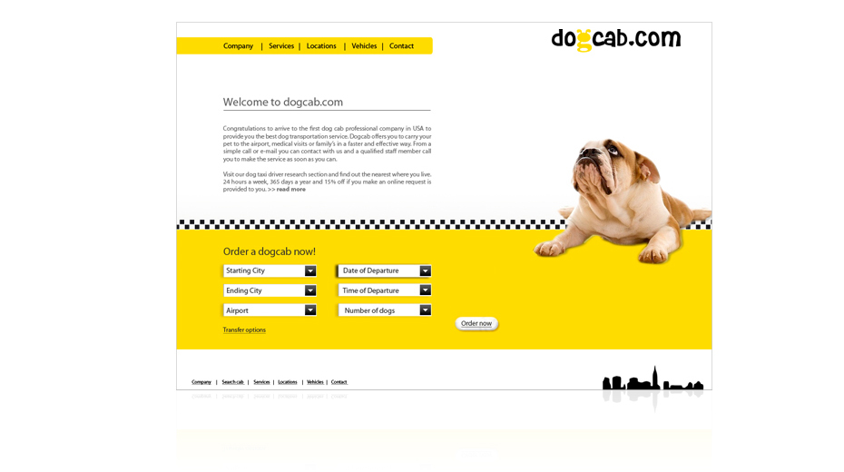 Taxis for dogs dogcab image
