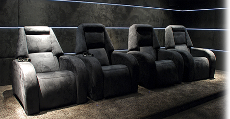 Keyton New Generation Of Luxury Theater Seating Home